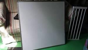 Large Magnetic white board 90cm x 90 cm Botany Botany Bay Area Preview