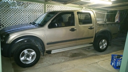 2004 Holden Rodeo LX 3.5Ltr V6 Dual Cab (not a 4wd just a big ute