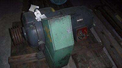 40 HP Eaton Variable Speed Electric Motor, 100-1710 RPM, Model 912, 45 V Clutch