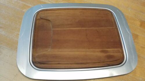 VINTAGE Miracle Maid LECTRO Electric SKILLET 3661 TRAY & CUTTING BOARD