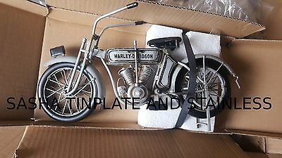 HARLEY DAVIDSON tin toy tinplate car blechmodell auto voiture tole handmade