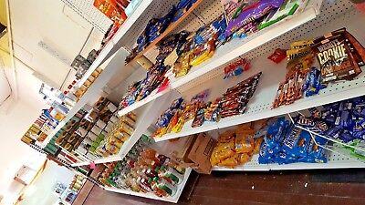 Gondola 2 Side Large 72 X 36 24 Aisle Store Madix Shelving Used Shelf
