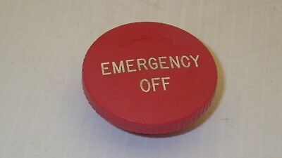 Siemens Button Emergency Off With Twist 20mm Diameter Nnb