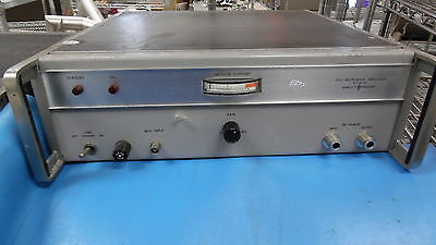 Hp 491c Microwave Amplifier 2.0-4.0 Ghz