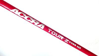 ACCRA TOUR Z XTREME 455 M3 Regular Flex DRIVER SHAFT 400 SERIES X455