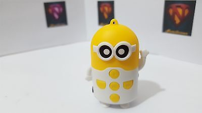 Cuty Despicable MP3 player with bundled accessories,fantastic sound- White