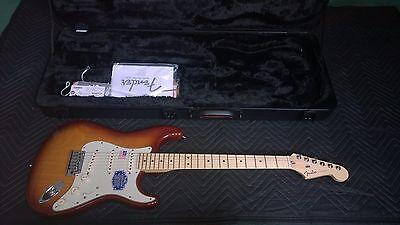2015 Fender American Deluxe Strat Ash Electric Guitar