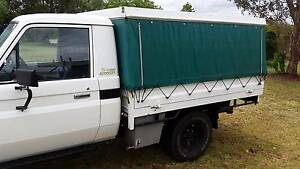 Steel Ute Tray and Canopy from Landcruiser Kingaroy South Burnett Area Preview