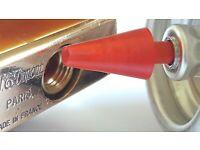 X4 ST Dupont Red 8 Pack Lighter Flints Blister Packet