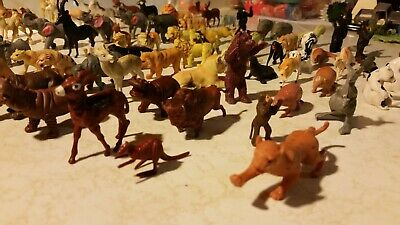 77 assorted wild animals, African and American Assorted Wild Animals