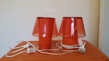 IKEA night table lamps Carnegie Glen Eira Area Preview