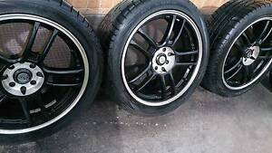 """17"""" Rims and Tyres 215/45R17 Dandenong South Greater Dandenong Preview"""
