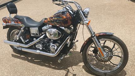 Harley Davidson Wide Glide Fuel Injected.