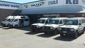 KB CAMPERS PERTHS LARGEST DEALER IN CAMPERVANS AND MOTOR HOMES Wangara Wanneroo Area Preview