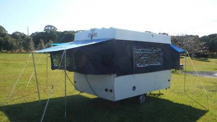 Chesney Caravan - Camper Trailer - 1982 - As New Canvas Nowra Hill Nowra-Bomaderry Preview
