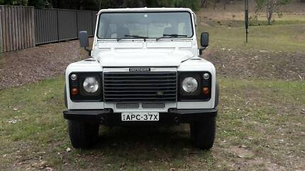 2001 Land Rover Defender TD5 130 Cab Chassis