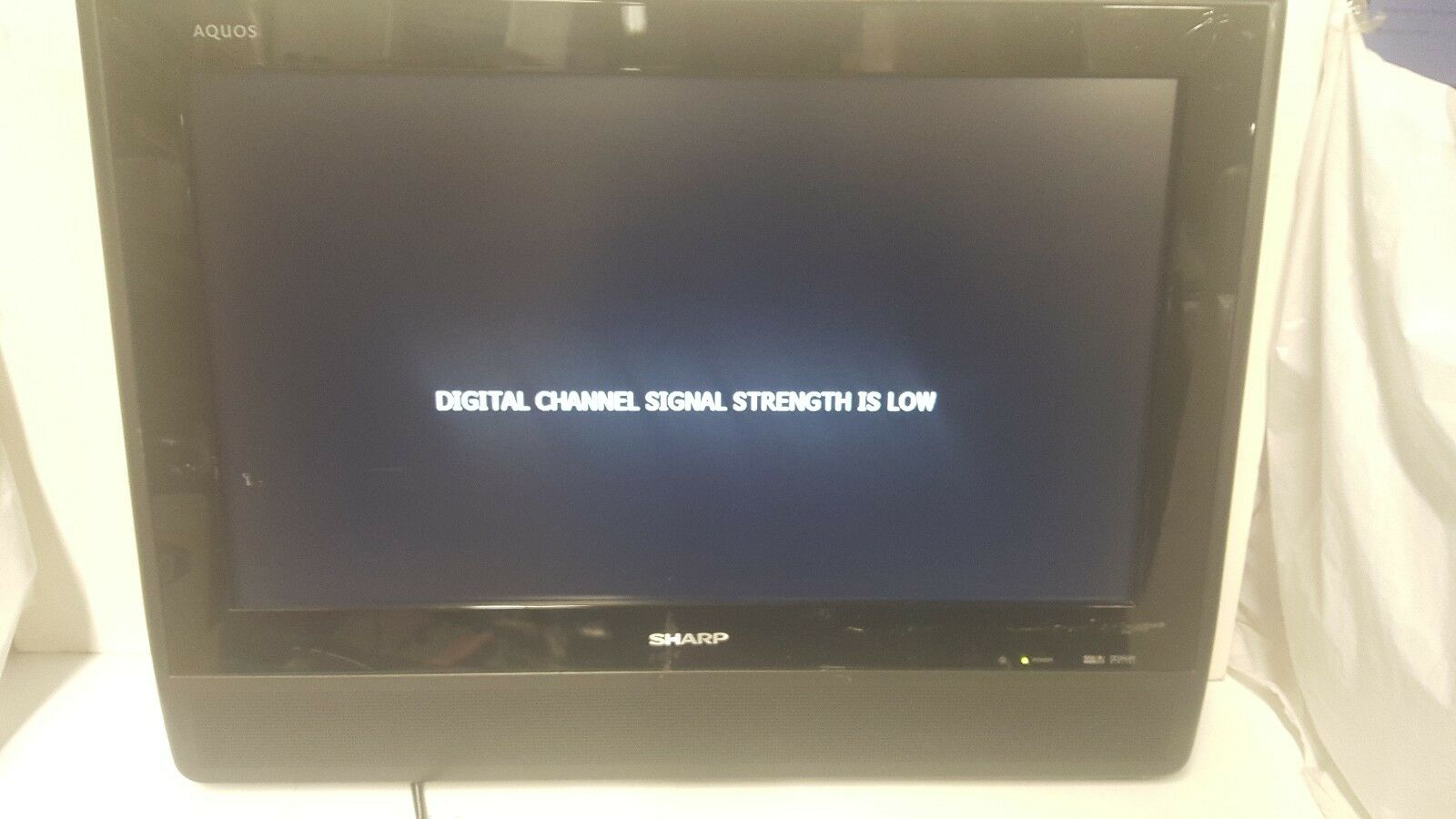 "Sharp 26"" Aquos Liquid Crystal TV (LC-26D40U) (No stand)"