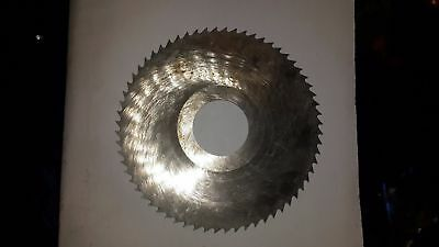 Slitting Slotting Blade Saw Milling Cutter 80x1.0x22 Mm Hss Ussr Lot 10pcs