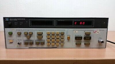 Hp 8970a Noise Figure Meter. E80 E26 E18 Error For Repair
