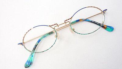 Brillen Gestell oval kleine Gläser farbig ausgefallen Damenfassungen Grösse M