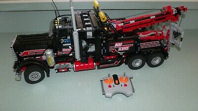Lego Technic 8285 Tow Truck RC With 8 Motors Built Please Read