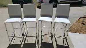 Four white bar stools Warwick Southern Downs Preview