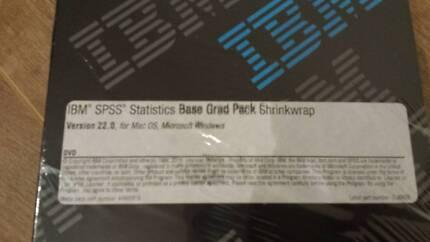 SPSS Statistics Base Grad Software