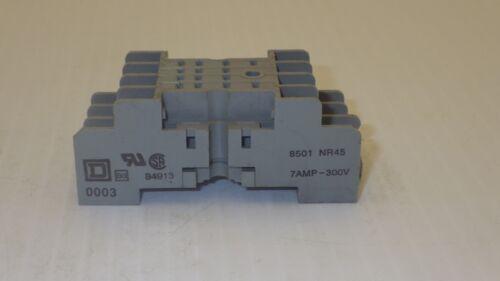 IDEC 84913 RELAY BASE SOCKET, 7 AMP 300V