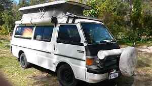 Ford econovan maxi van, travel campervan Poptop solar and annexes Cooran Noosa Area Preview