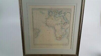 Antique Map of South Africa - J & C Walker - Edward Stanford