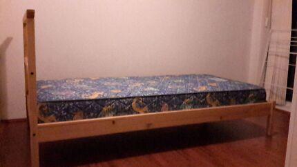 IKEA Dalselv single bed and matress Ashfield Ashfield Area Preview