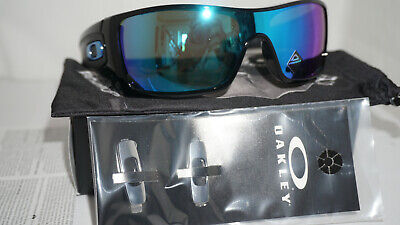 Oakley New Sunglasses Batwolf Polished Black Prizm Sapphire Iridium OO9101-5827
