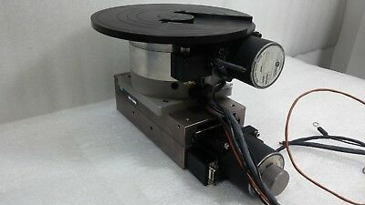 Velmex Neat Unislide B4818ts Xy Theta Stage Rotation Table