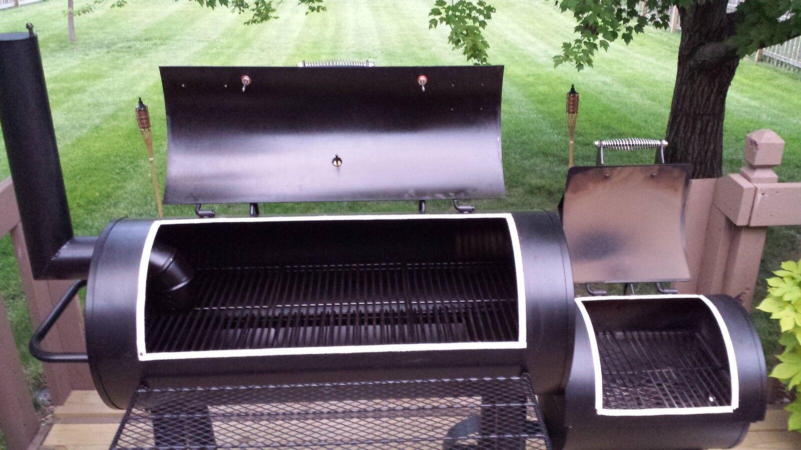 oklahoma joe 39 s longhorn smoker gasket brinkmann. Black Bedroom Furniture Sets. Home Design Ideas
