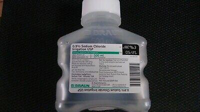 0.9% Sodium Chloride Irrigation USP, Isotonic Solution for Irrigation, 500 ml