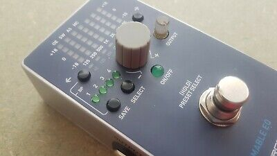 Source Audio programmable eq guitar effect pedal midi effects stomp
