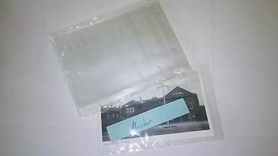 100 Ansichtskartenhüllen Postkarten Hüllen, alte kleine Ansichtskarten 100x150mm