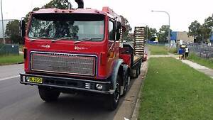 Awesome Crane Truck with beaver tail and ramps Baulkham Hills The Hills District Preview