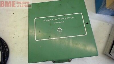 APPALACHIAN ELECTRIC 8019 SCANNAIR 8 POWER & STOP MOTION