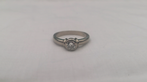 18ct White Gold Diamond Ring - $5200 valued Melbourne CBD Melbourne City Preview