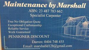 Handyman / Carpenter Bassendean Bassendean Area Preview