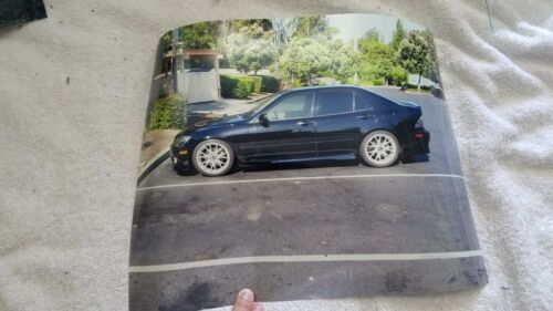 "Lexus IS300 Toyota Altezza Car Photo Print Poster  11""x14"" USED"