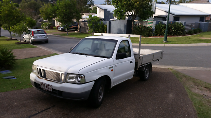 Ford Courier 2003 Diesel Turbo Ute. Manual