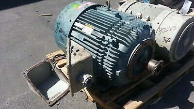 100 Hp Baldor Reliance Electric Motor 3600 Rpm 404tsc 405tsc Fr. Tefc 460 V.