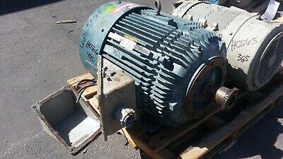 100 Hp Baldor Reliance Electric Motor 3600 Rpm 404tsc 405tsc Fr. Tefc 460 V.