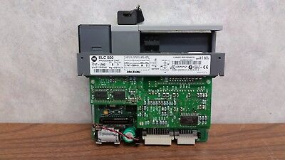 Allen-bradley Slc500 1747-l542 Ser. B Processor Unit - 504 Cpu