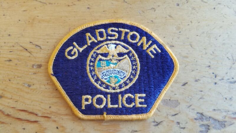 """Collectible Gladstone Police Patch Oregon 4.25"""""""