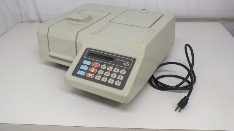 Bausch & Lomb Spectronic 601 Spectrophotometer