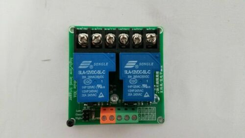 USA! 2-Channel DC 12VDC 30A Relay Board Module Optocoupler Isolation High/Low