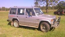 1991 Mitsubishi Pajero Wagon 4 x 4 Diesel Oct 2016 rego 4WD Taree Greater Taree Area Preview